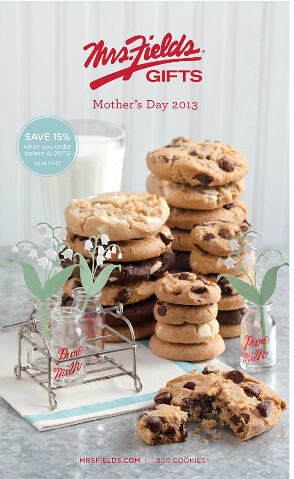 Mrs. Fields Mother's Day Catalog