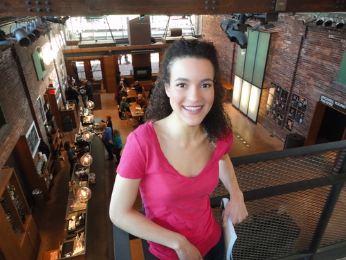 Leah Doz, Toronto actor, rising star at Soulpepper Theatre, 2013, La Ronde