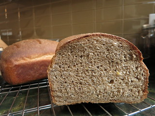 Honey Whole Wheat Bread with Poppy Seeds and Lemon Zest