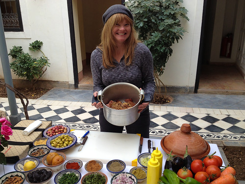 Moroccan cooking course
