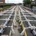 First on-road tram tracks of Phase Two of the Nottingham Tram by ayeupmeduck