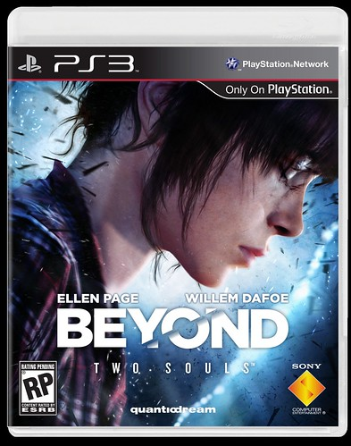 Beyond: Two Souls for PS3 - Final box art