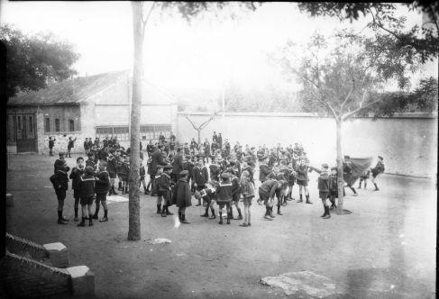Colegio de Huérfanos Cristinos © Fondo Rodríguez. Archivo Histórico Provincial. JCCM. Signatura PA-CAJA5SOBRE22-53