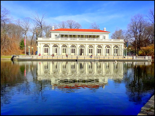 Prospect Park. Boathouse