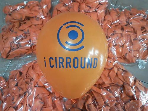 豆豆氣球, 客製化廣告印刷氣球, i CIRROUND