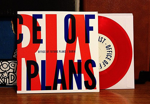"Office Of The Future Plans / Daria - Split 7"" - Red Vinyl (/100) by Tim PopKid"