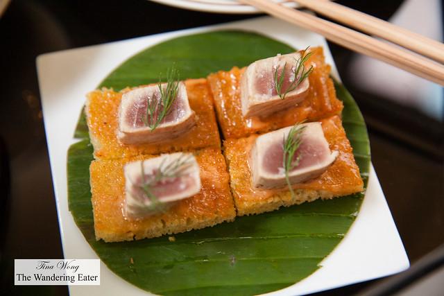Tuna & focaccia
