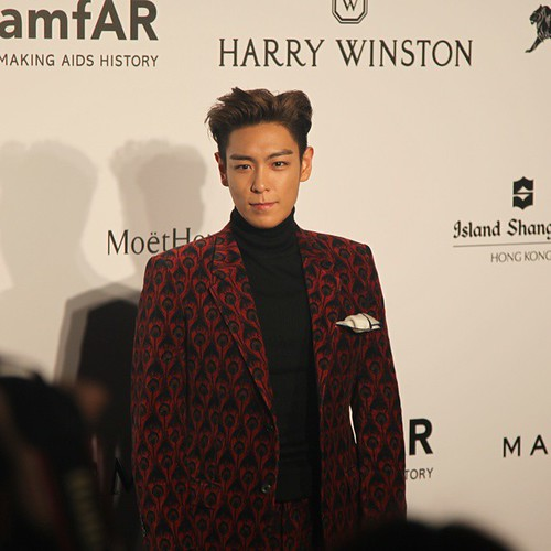 TOP - amfAR Charity Event - Red Carpet - 14mar2015 - 韓流Times - 01
