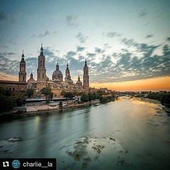 #Repost @charlie__la  ・・・ Never get tired of this... Zaragoza