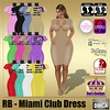 RB - Miami Club Dress