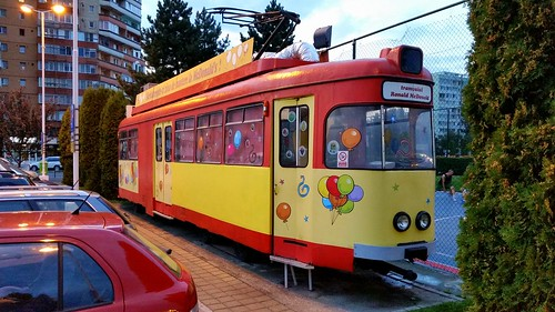 old frankfurter germany tram use playground ath mcdonalds brasov romania strassenbahn frankfurt deutschland publi transport mc donalds restaurant