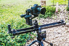 RxDesign Photography and Media  www.rxdesign.com . #joelspring  #rxdesign  #RxDesignPhotography #sanantonio #texas . Great skies today for breaking out my @Kesslercrane #cineslider with turret head for live motion segments in a builder video project. . #c
