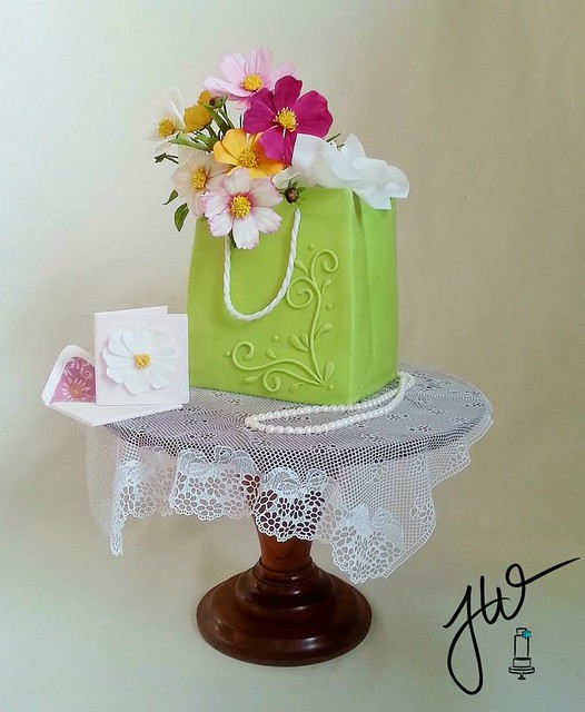 Cake by Jeanne Winslow Cake Design
