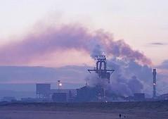 英國River Tees河口的工廠。(照片提供: FreeFoto.com/攝影:Ian Britton)