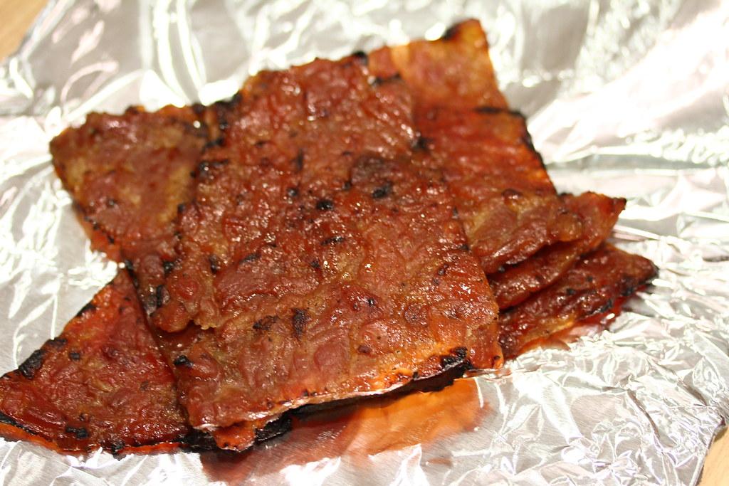 The Ultimate Bak Kwa Taste Test: Lim Chee Guan (sliced pork)