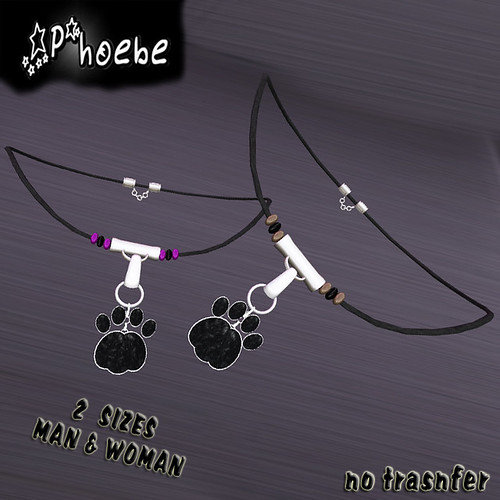 [$10L PROMO] *P* Paw Cat Necklace