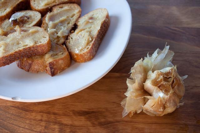 Roasted Garlic Croutons | Flickr - Photo Sharing!