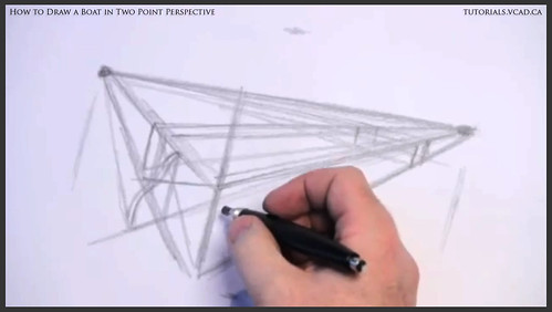 learn how to draw a boat in two point perspective 004