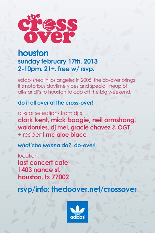 The Cross Over - Houston All Star Weekend