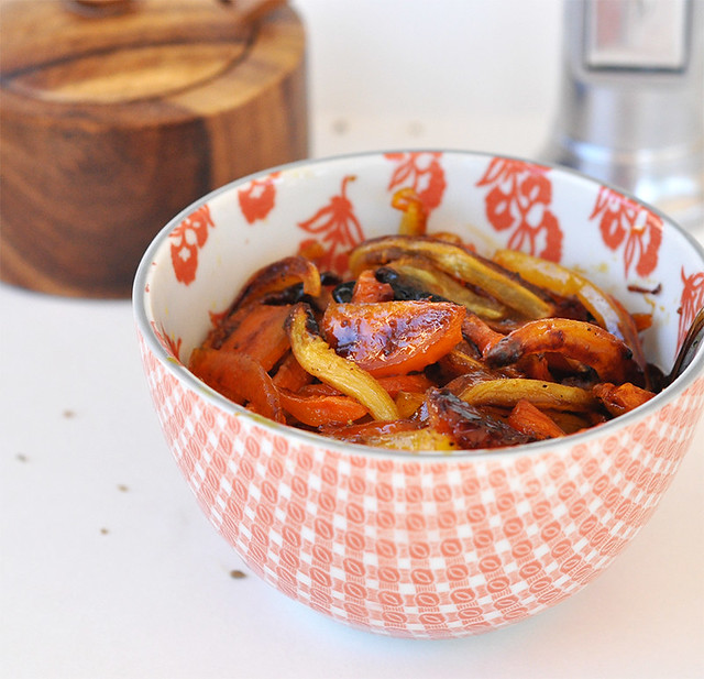 Caramelized Spiced Carrots with Honey & Orange