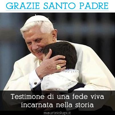 Grazie Santo Padre