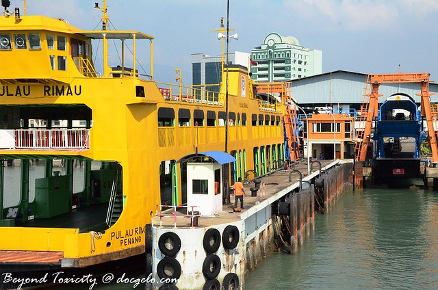 ferry in penang