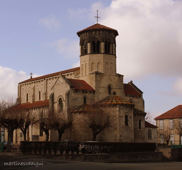 Eglise Saint Martin de Thuret (Puy de Dôme)
