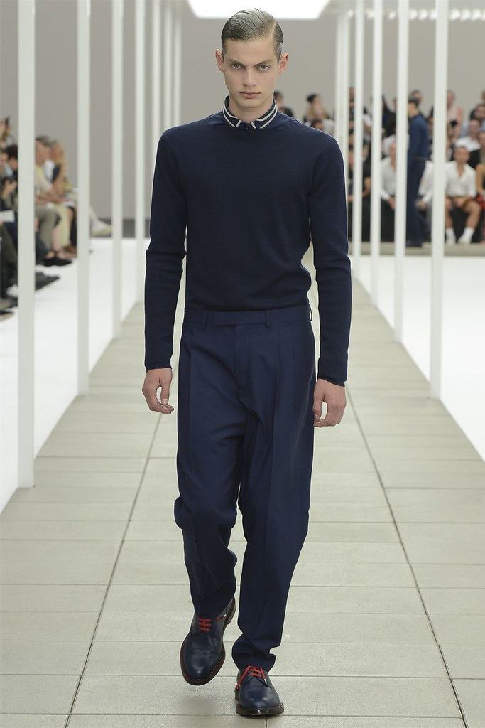 Justus Eisfeld3015_SS13 Paris Dior Homme(vogue.it via AriLove @ TFS)