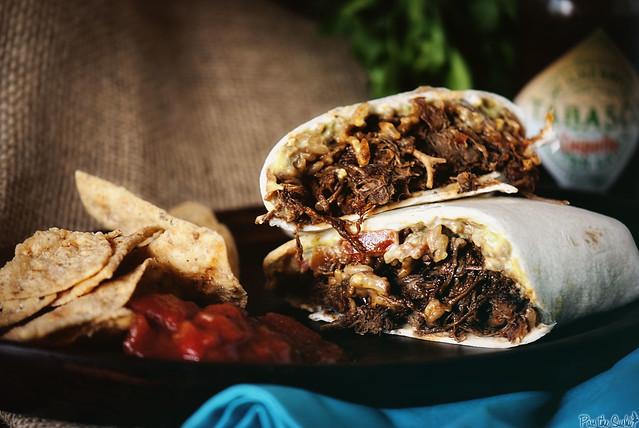Slow Cooker Burrito