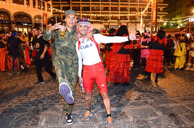 Smiley Carnival Goers, Tenerife