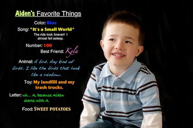 Aiden's Favorites