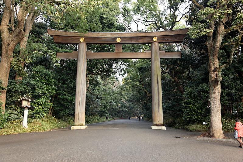 Entrance torii