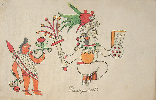 018- Decima fiesta Huchpaniztli-Códice Veitia- Biblioteca Virtual Miguel de Cervantes