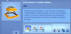 Local Motion Toddler Walker