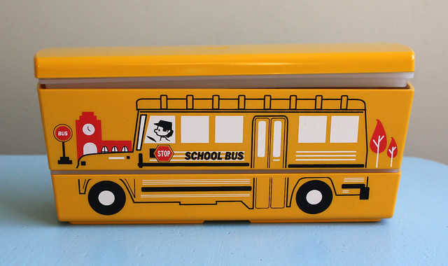 School Bus Bento Box