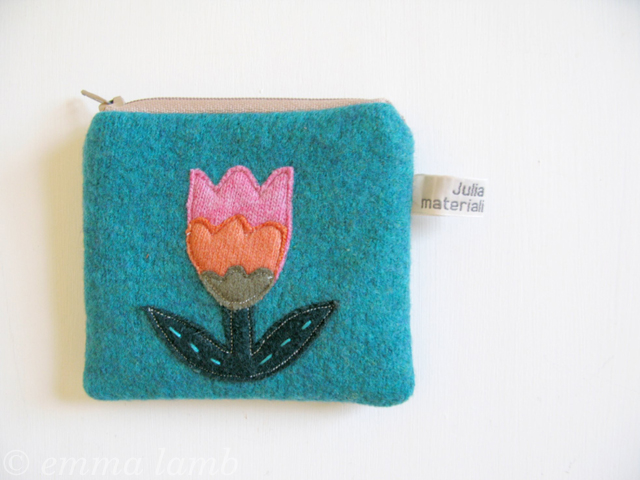 folk art coin purse from materialised | Emma Lamb