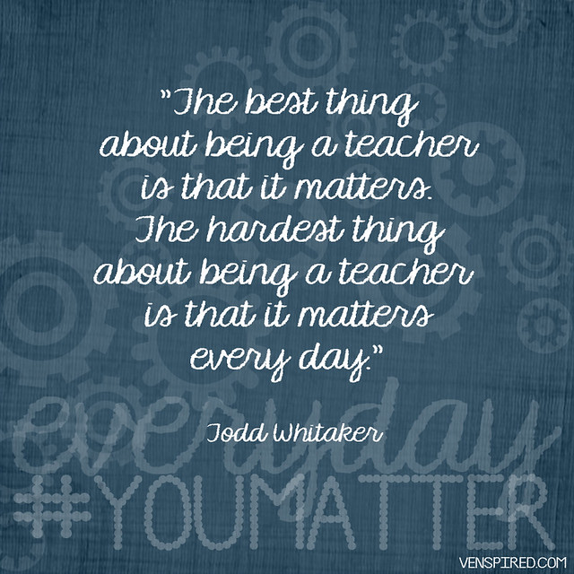 Teaching Matters Everyday