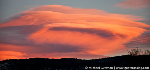 sunset orange cloud newmexico color clouds nikon taos lenticular d90 michaelguttman goatcrossingimages