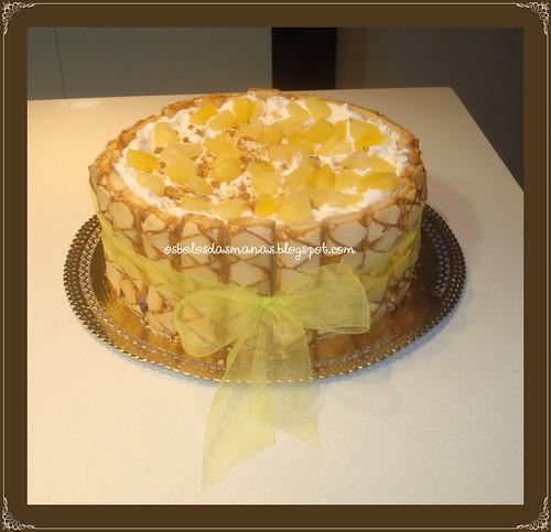 Bolo Delicia de ananás by Osbolosdasmanas