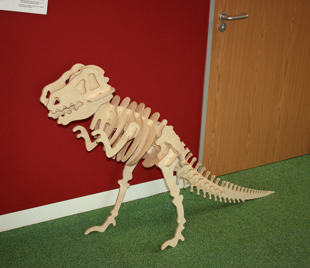 T Rex at Fablab