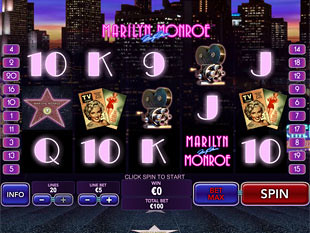 Marilyn Monroe slot game online review