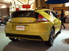 automobile, automotive exterior, wheel, vehicle, automotive design, auto show, honda, honda cr-z, bumper, land vehicle, supercar, sports car,