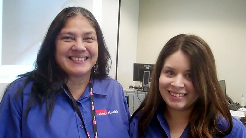 Christina Garcia—PSS 1 with CBC Texas City Mainland Crossing, and Victoria Martinez—PSS 1 at UHC 6th Floor.