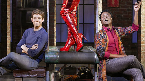 Stark Sands, Billy Porter and some Kinky Boots