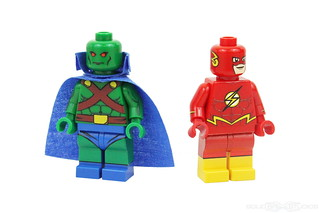 DC Super Heroes - Martian Manhunter & Flash