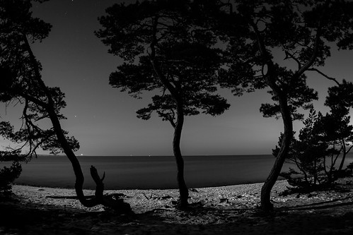 winter bw nature water landscapes sweden stockholm fisheye bluehour archipelago