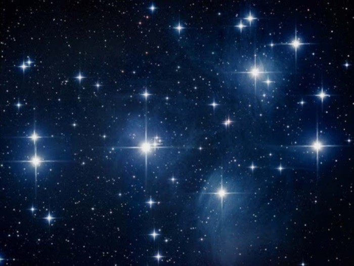 stelle cielo nero