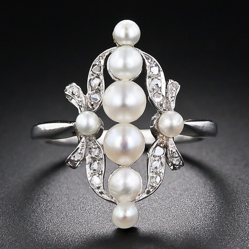 1362698991_30_1_5205_Edwardian_Natural_Pearl_and_Diamond_Platinum_Dinner_Ring__1_of_5_
