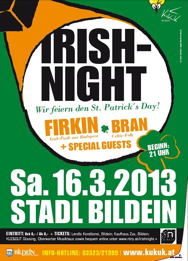 Irish Night 2013