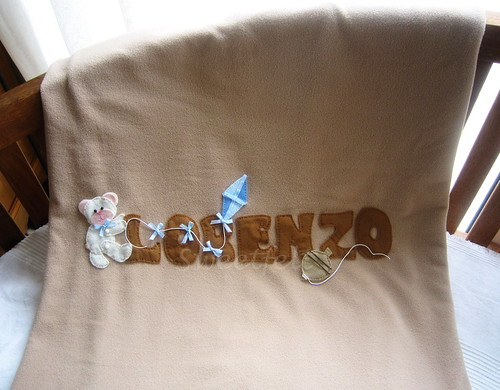 ♥♥♥ E uma mantinha para o Lorenzo se enroscar e sonhar... by sweetfelt \ ideias em feltro